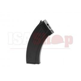 AK47 Midcap Plastic 120rds Black Magazine