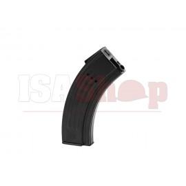 AK47 Type M4 Midcap Plastic 120rds Black Magazine