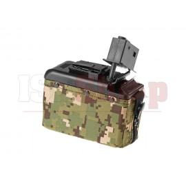 Boxmag M249 1200rds Woodland