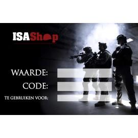 ISASHOP Waardebon