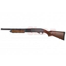 Tokyo Marui M870 Tactical Gas Pump Action Shotgun Woodlook