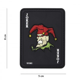 Joker Card PVC Patch