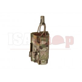 Single Open Mag Pouch 5.56mm with 9mm Multicam