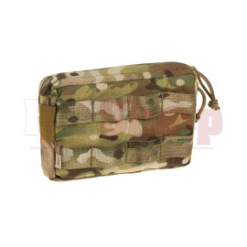 Small Horizontal MOLLE Pouch Zipped Multicam