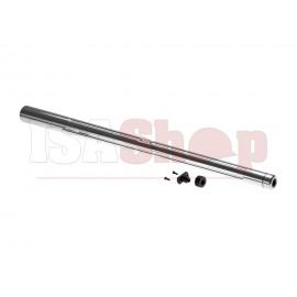 Custom Outer Barrel for AAC21 / KJW M700 Silver