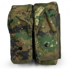 Molle Pouch Utility Big MARPAT Woodland