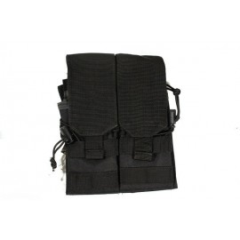 Molle Double Mag Pouch Black
