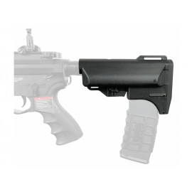 Slong Retractable Magazine Butt Stock (Black)