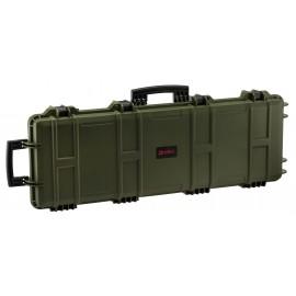 NP Large Hard Case (Wave Foam) - Green