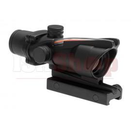 1x32C Red Dot Fiber Black