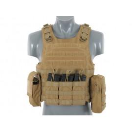 Lightweight AAV FSBE Assault Vest System V2 Tan