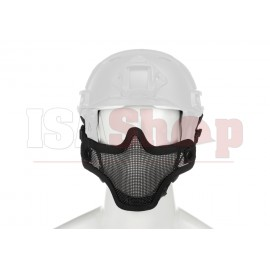 Steel Half Face Mask FAST Version Black