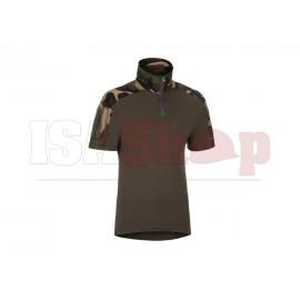 Combat Shirt Short Sleeve Woodland