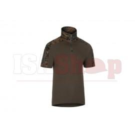 Combat Shirt Short Sleeve MARPAT Woodland