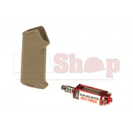High Torque Slim Motor + Amoeba Slim Pistol Grip
