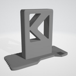 SCAR H Rifle Display Stand