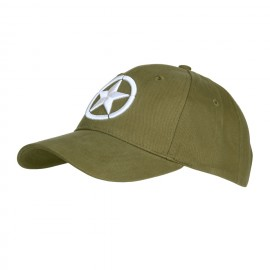 Baseball Cap Allied Star 3D OD