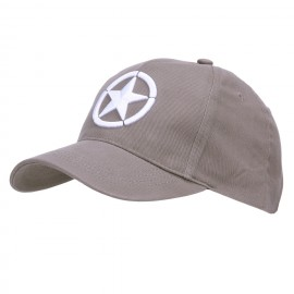 Baseball Cap Allied Star 3D Grey
