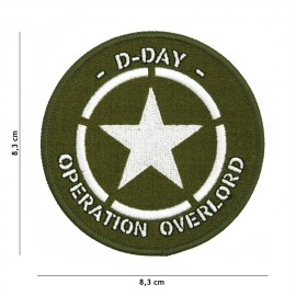 D-Day Allied Star Patch
