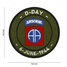 D-Day 82nd Airborne Patch OD