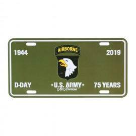 D-Day 101st Airborne Nummerbord