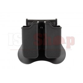 Double Mag Pouch for WE / KJW / TM 17/19 Black