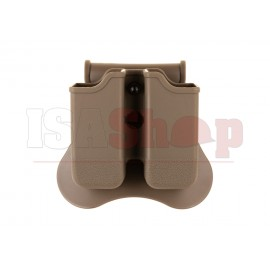 Double Mag Pouch for WE / KJW / TM 17/19 Dark Earth