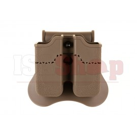Double Mag Pouch for Px4 / P30 / USP / USP Compact Dark Earth