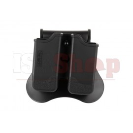 Double Mag Pouch for P226 / M9 / CZ P-09 Black
