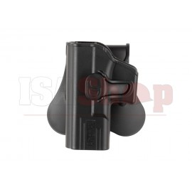 Paddle Holster for G19 / ICS BLE-XAE Left Hand Black