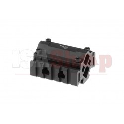 Triple Rail Rifle Barrel Mount 5-Slot