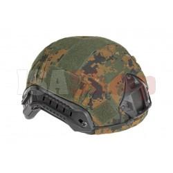 FAST Helmet Cover MARPAT Woodland