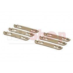 3 Inch Speed Clips 6pcs Coyote