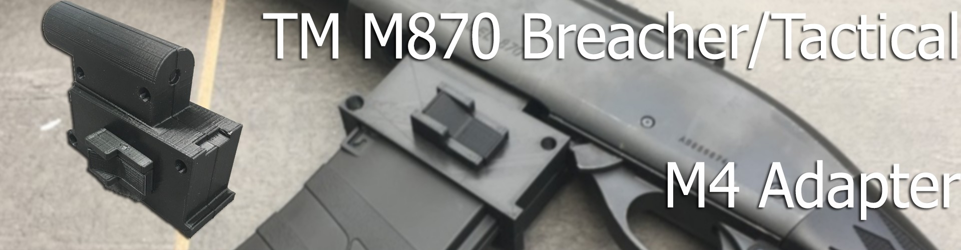 TM M870 M4 Adapter