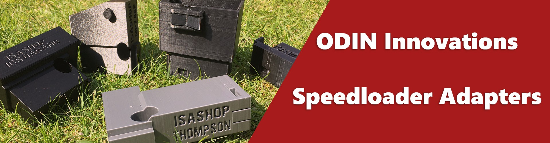 ODIN Innovations Speedloader Adapters
