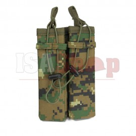 Molle Pouch Side Arm 2 Mags MARPAT Woodland
