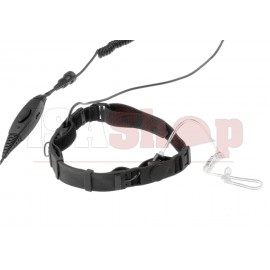 SWAT Tactical Throat Mic Set for Motorola Talkabout