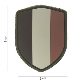 Belgium Shield PVC Patch