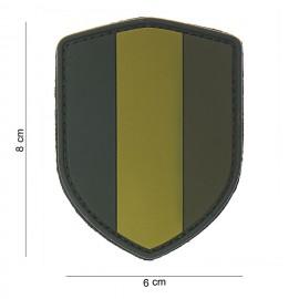 Belgium Shield PVC Patch OD