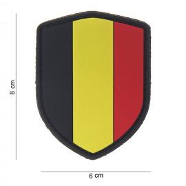 Belgium Shield PVC Patch Color