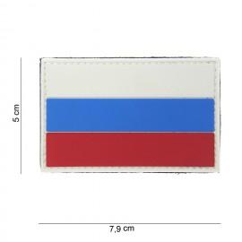 Flag Russia PVC Patch Color