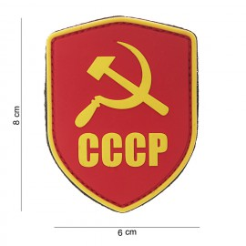 CCCP Shield PVC Patch Color