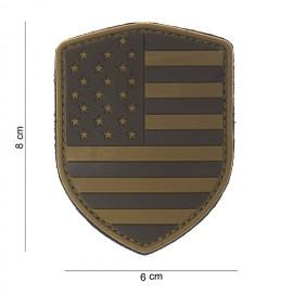 USA Shield PVC Patch Desert