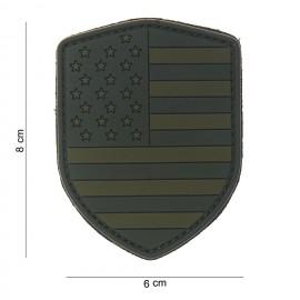 USA Shield PVC Patch OD