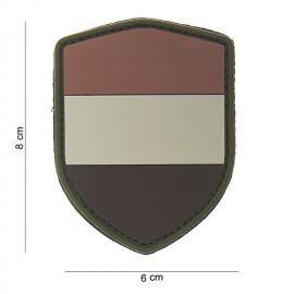 Netherlands Shield PVC Patch Desert