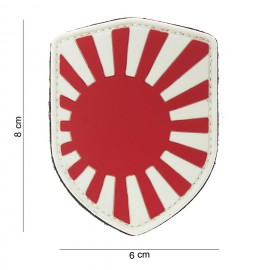 Japan War Shield PVC Patch Color