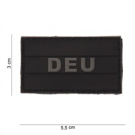 Germany Small PVC Patch Black