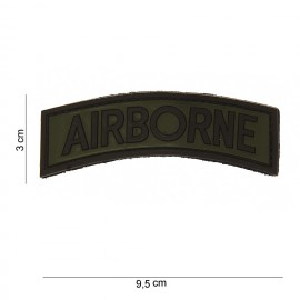Airborne Tab PVC Patch