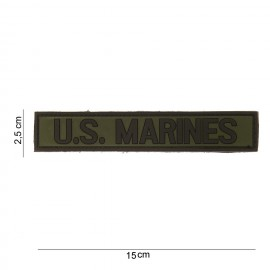 US Marines Tab PVC Patch