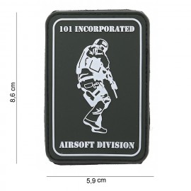 101 Inc Airsoft Division PVC Patch